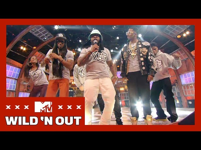 'The WNO Crew Raps Songs About Nothing' Official Throwback Clip | Wild 'N Out | #TwerkWork
