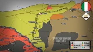 13 июня 2018. Военная обстановка в Сирии. Турецкие СМИ сообщили о переброске итальянских сил в Сирию