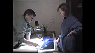 Изготовление стенда АСИ, 1998 год(Домашнее видео - работа над стендом., 2013-01-07T07:29:21.000Z)