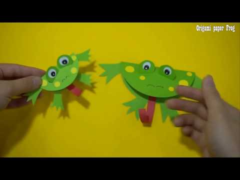 Origami Paper  Frog Craft | Paper Craft For Kids , paper craft art