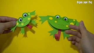 Origami Paper  Frog Craft   Paper Craft For Kids , paper craft art