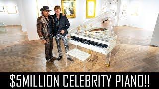 WHITNEY HOUSTON'S $5MILLION PIANO!