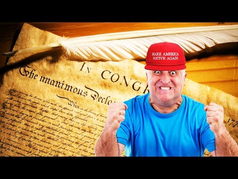 Trump Supporters Triggered By Declaration Of Independence