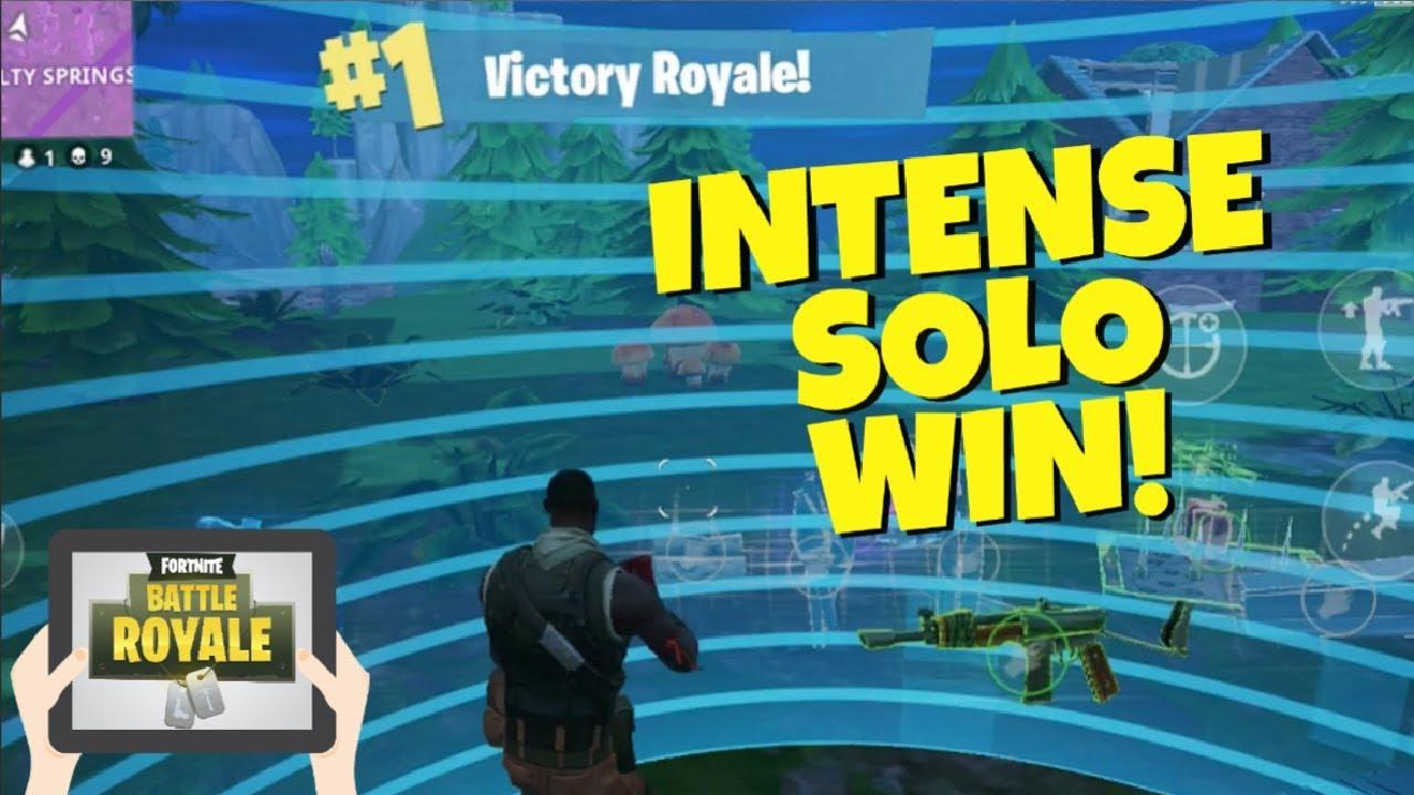 Intense High Kill Win On Fortnite