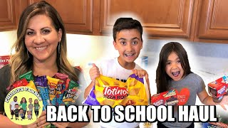 WINCO FOODS BACK TO SCHOOL GROCERY HAUL | KIDS SCHOOL LUNCHES & AFTER SCHOOL SNACK ITEMS
