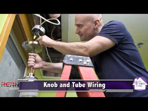 knob and tube wiring youtube