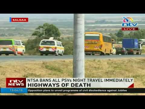 Salgaa stretch along Nakuru-Eldoret highway a black spot