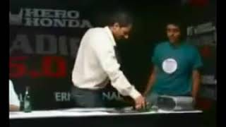 Nikhil chinapa slapping contestant