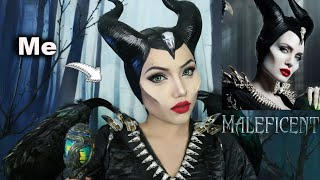 Disney's Maleficent 2019 Makeup Transformation!!!