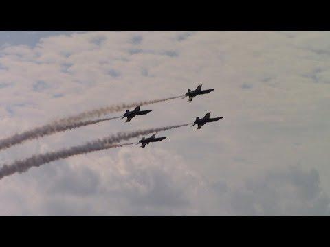 Blue Angels w/ Frank Weisser 2016 Oceana Air Show