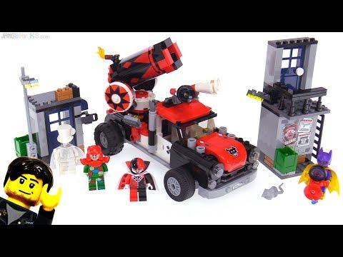 LEGO Batman Movie Harley Quinn Cannonball Attack  ♦️♥️ 70921
