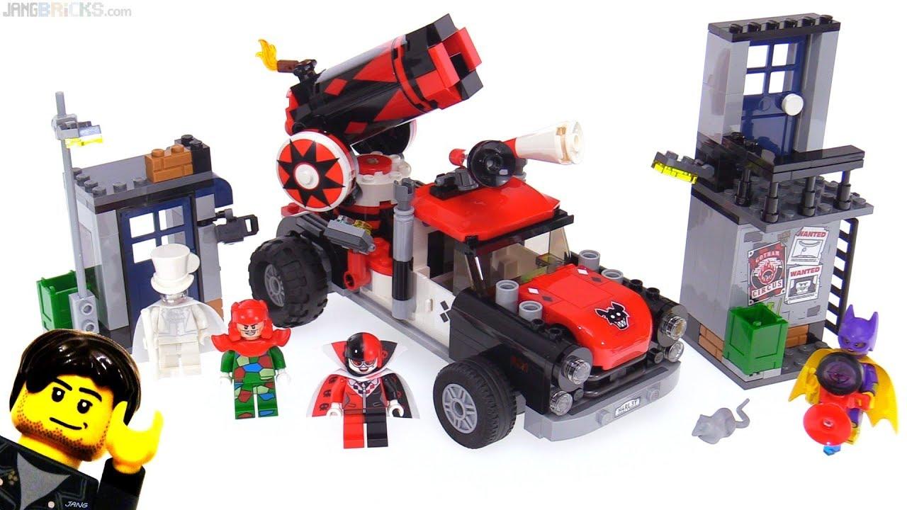 LEGO Batman Movie Harley Quinn Cannonball Attack review  ...