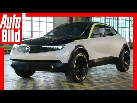 Opel GT X Experimental (2018) Sitzprobe / Review / Erklärung