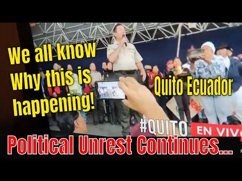 Political Unrest In Quito Ecuador Continues: Insider Video Cuenca Ecuador Update #2
