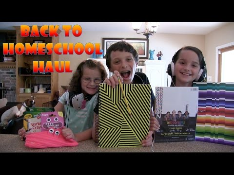 Back to School Supplies Haul and Mini Fashion Show with Bratayley