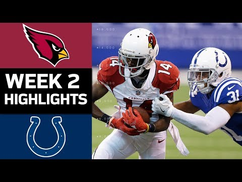 Cardinals vs. Colts | NFL Week 2 Game Highlights