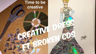 CREATIVE CINDERELLA DRESS: BROKEN CDS