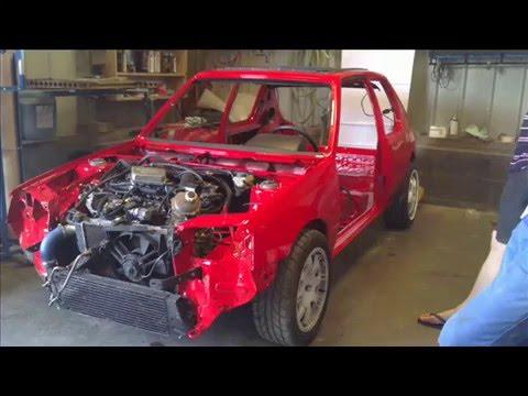 restauration deLa 205 tct de S16dam 76 Perf Swap auto