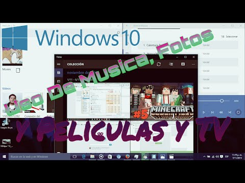 Uso De Fotos Musica Y Videos En Windows 10