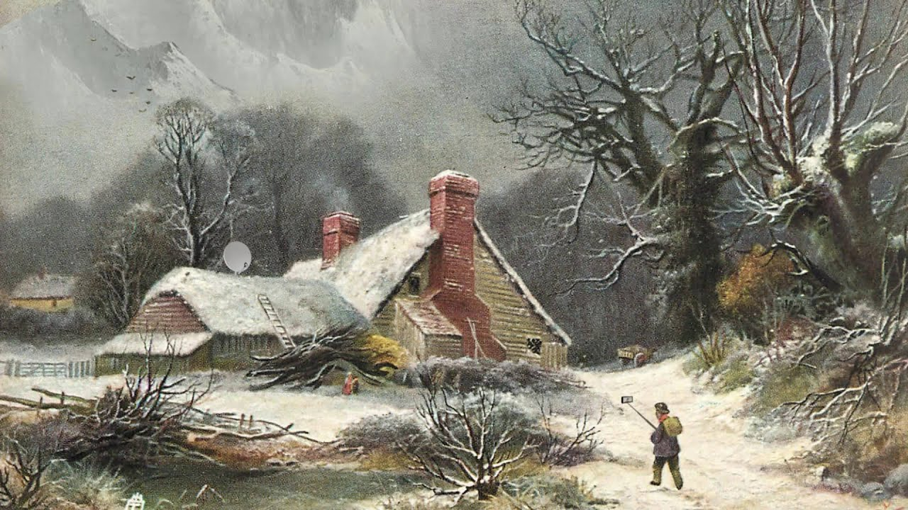 Vintage Christmas Cards (with a twist) - YouTube