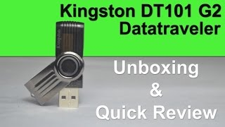 Kingston DT101 G2 Pendrive Unboxing and Quick Review in Hindi