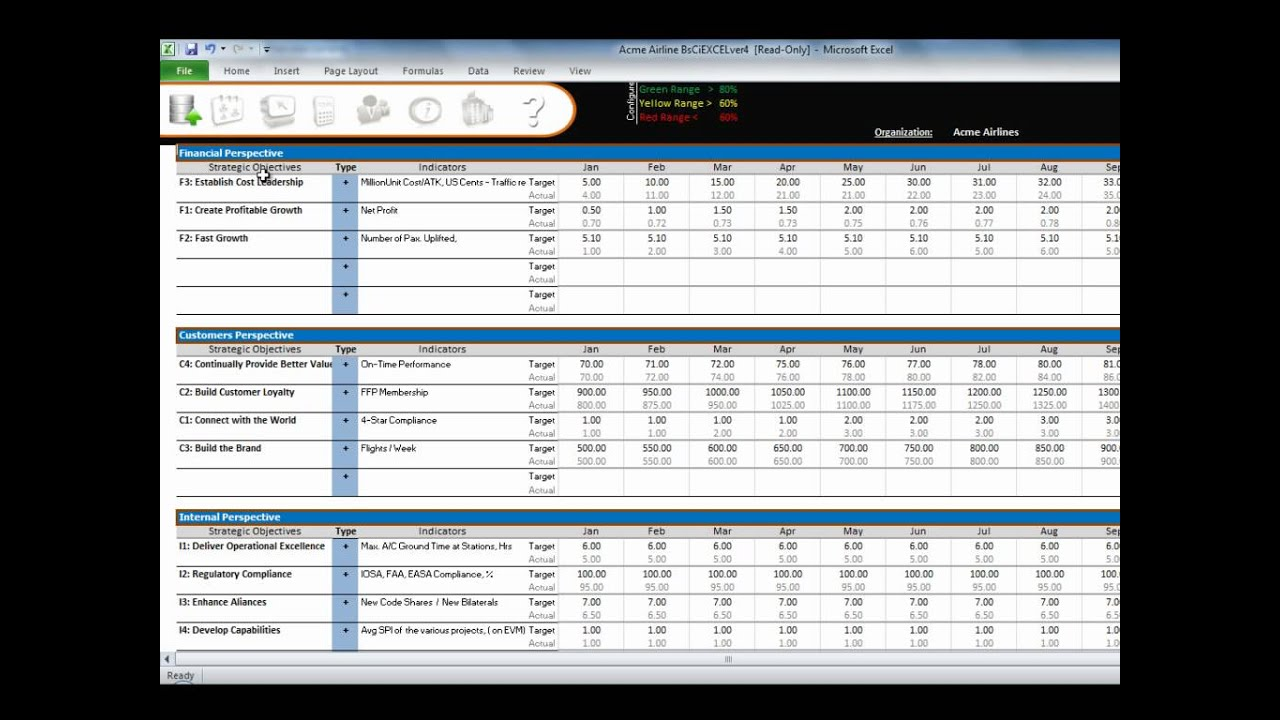 webinar 1 overview of balanced scorecard for excel youtube