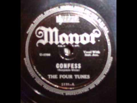 Four Tunes - Confess / Don't Know (Manor 1131) 1948