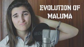EVOLUTION OF MALUMA ( Singing ) || #MeriChristmas || Meri Vlogs