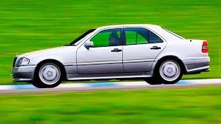 Тестим ЖИВУЮ Цэшечку! Мерседес W202 | AutoDogTestCars | AutoDogTV #20