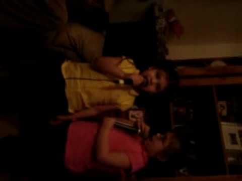 Brianna and Tallynna Karaoke