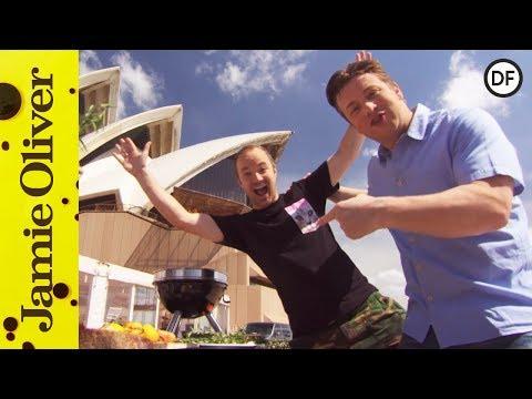 Australian BBQ Crispy Prawns | Jamie & Tobie