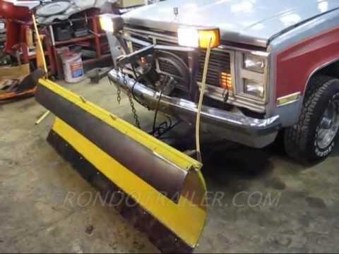 meyer plow pump speakon plug wiring diagram sold.meyer conventional snow on sold.diesel 4x4 gmc jimmy blazer - youtube