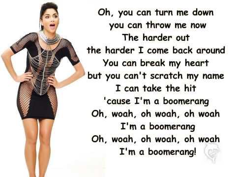 Nicole Scherzinger-Boomerang Lyrics