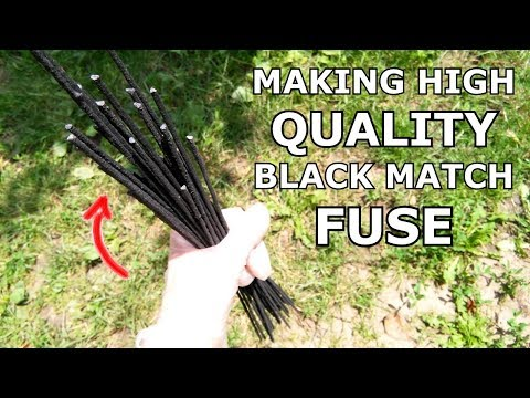 MY BEST WAY FOR MAKING BLACK MATCH- FUSE | 2018.