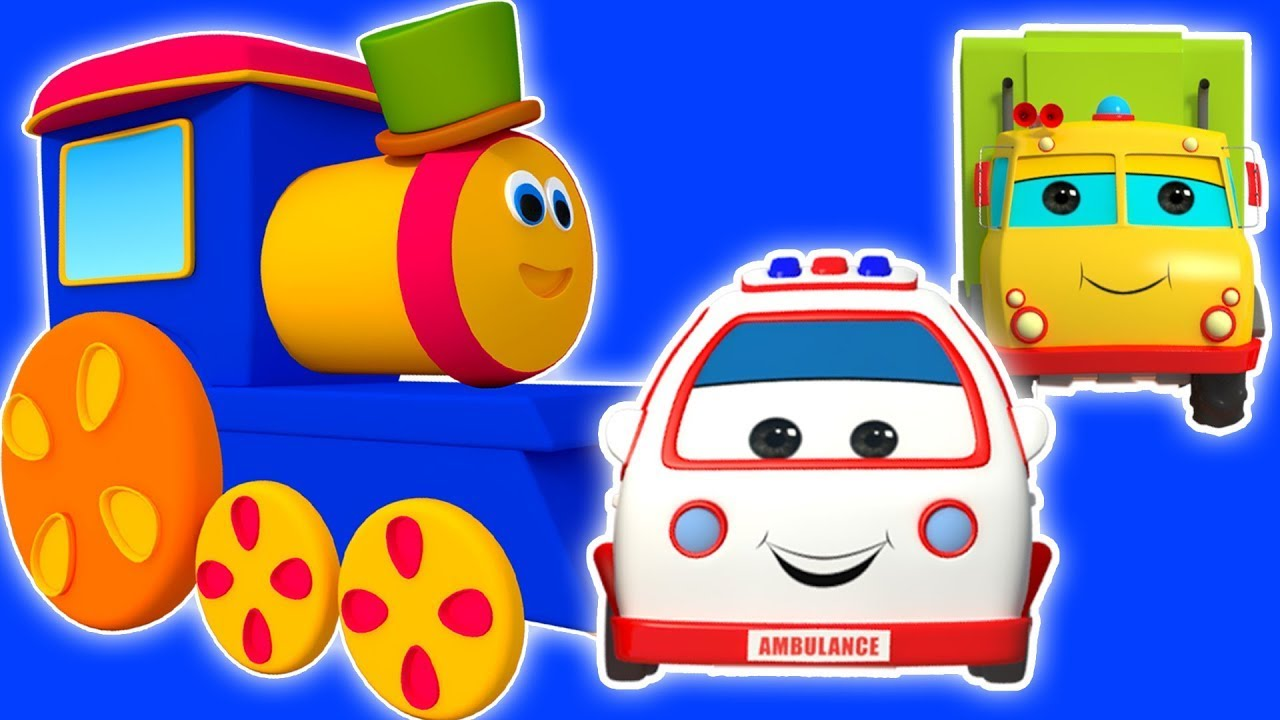 Bob xe lửa | Phiêu lưu Giao thông vận tải | vần điệu trẻ