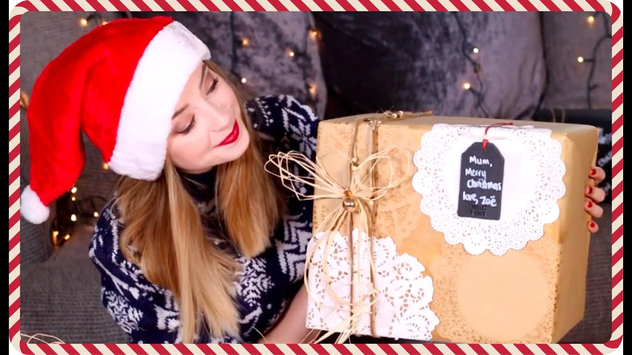 Christmas Gift Wrapping Ideas  Zoella