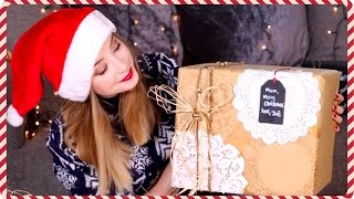 Christmas Gift Wrapping Ideas | Zoella