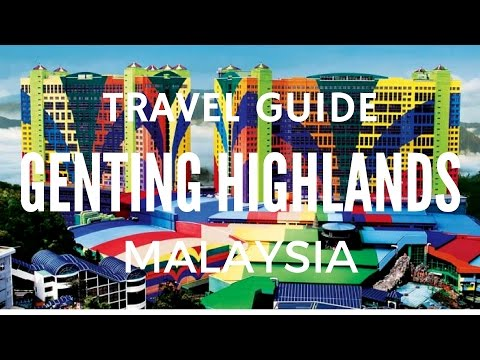 MALAYSIA EPISODE 1 - Genting Highlands Casino Skyway Cable Car Travel Guide 马来西亚云顶高原