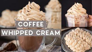 Coffee Whipped Cream
