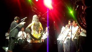 "Lila Downs en Tlaxiaco Oaxaca ""Cancion Mixteca y Pinotepa """