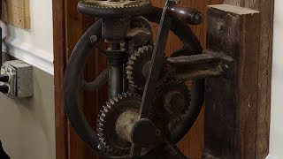 Ye Old Post Drill  |  Woodworkers Guild Of America