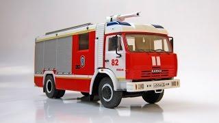 Зібрана модель - КАМАЗ АЦ-3,2-40 (AVD Models)
