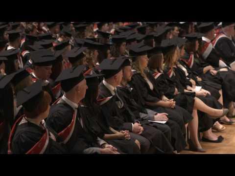 UCLan Graduation Ceremony: Wednesday 12 July 2017 – Morning