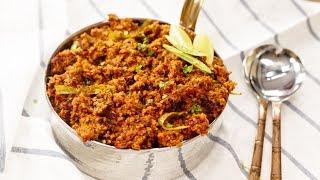 Keema Masala Recipe - Veg Soya Kheema Restaurant Style Qeema - CookingShooking