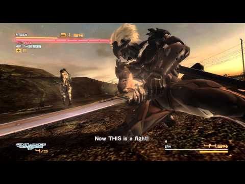Metal Gear Rising: Sam Boss Fight HD