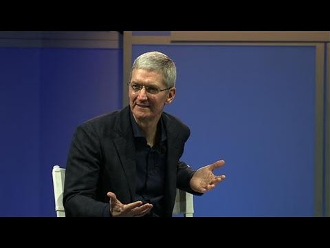 Tim Cook at WSJD Live
