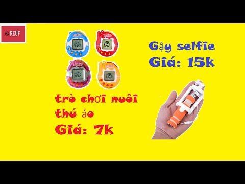ĐỒ CHƠI | Săn đồ chơi nuôi thú ảo giá Tamagotchi 7k và gậy selfie 15k.