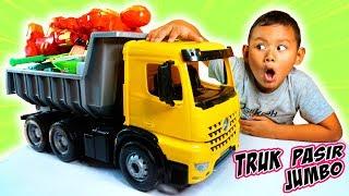 Praya Buka Mainan Truk Pasir Besar