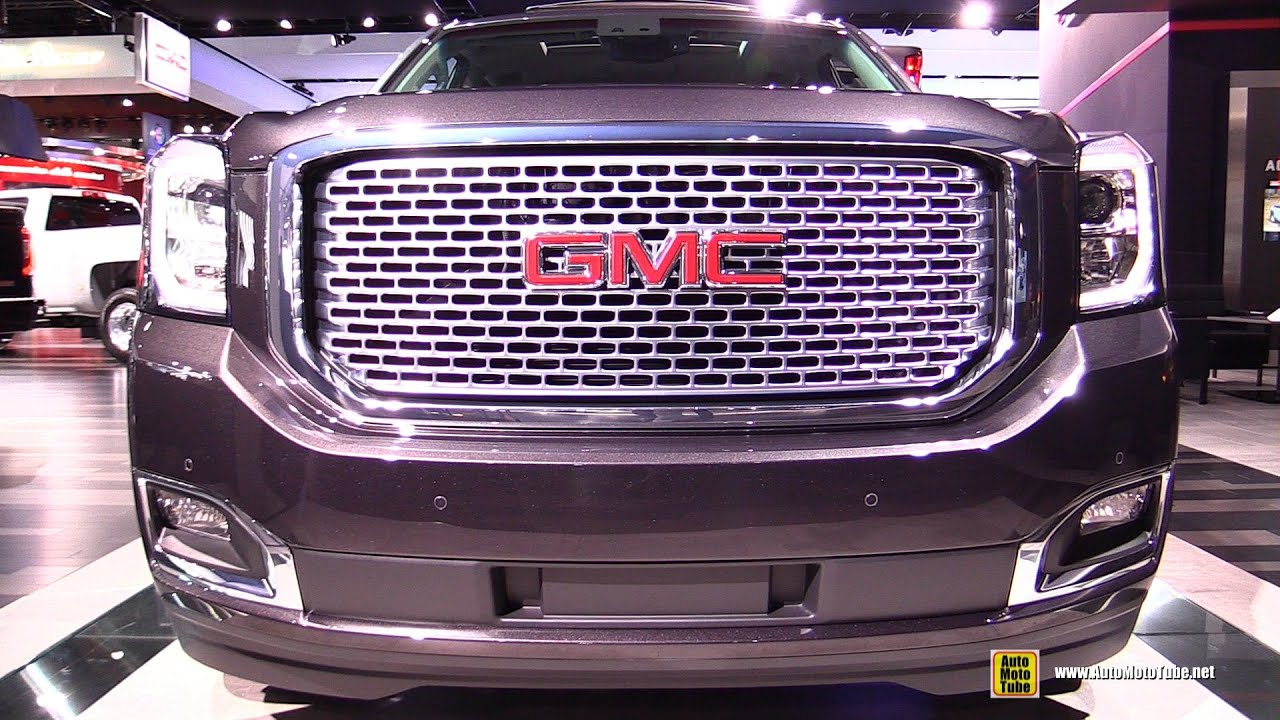 2016 gmc yukon denali exterior and interior walkaround. Black Bedroom Furniture Sets. Home Design Ideas