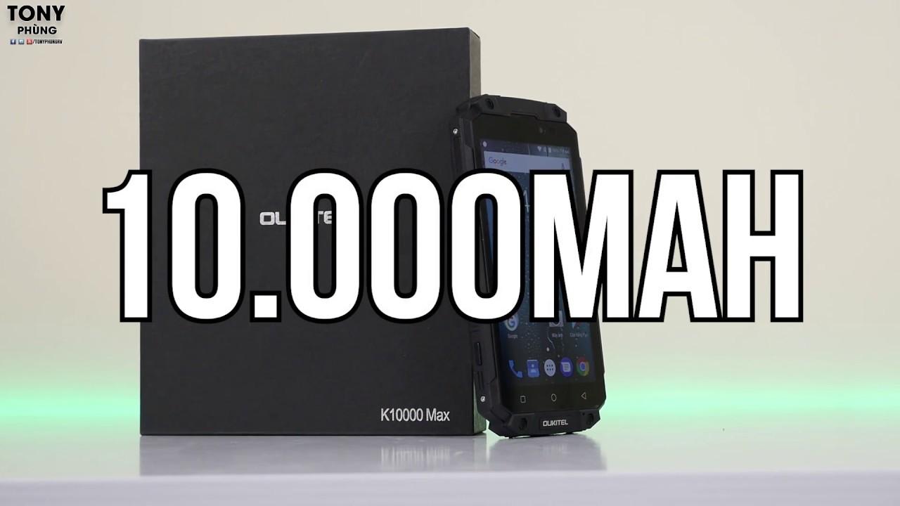 Cục gạch có khả năng nghe gọi - pin 10.000mAh - Oukitel K10000 Max
